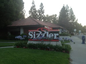 Sizzler Fullerton Exterior