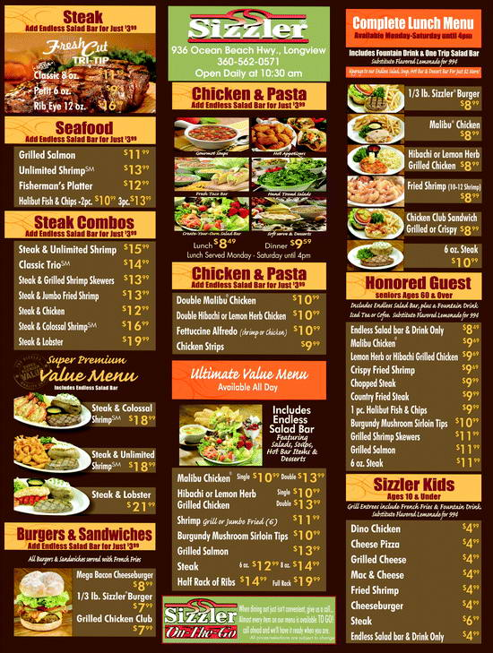 sizzler-menu