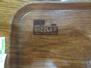 Vintage Sizzler Serving Tray