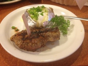 Buena Park Sizzler - Steak and Potato