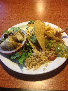 sizzler culver city dirty rice taco